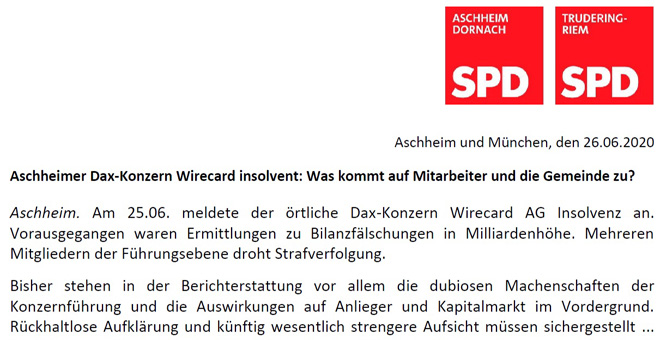 PM Wirecard